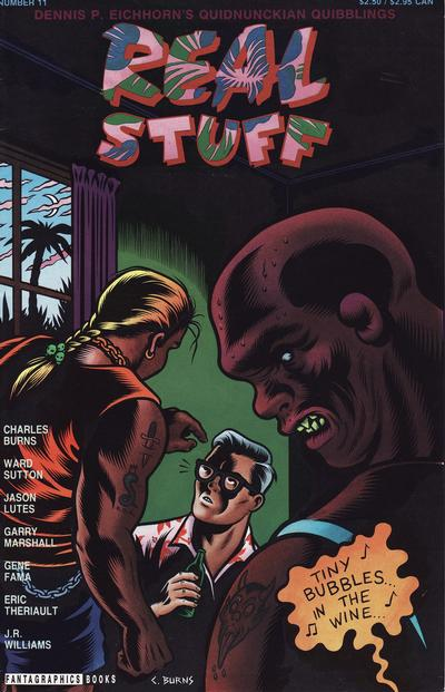 Cover for Real Stuff (Fantagraphics, 1990 series) #11