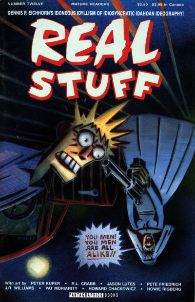Cover for Real Stuff (Fantagraphics, 1990 series) #12