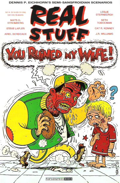 Cover for Real Stuff (Fantagraphics, 1990 series) #18