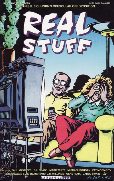 Cover for Real Stuff (Fantagraphics, 1990 series) #20