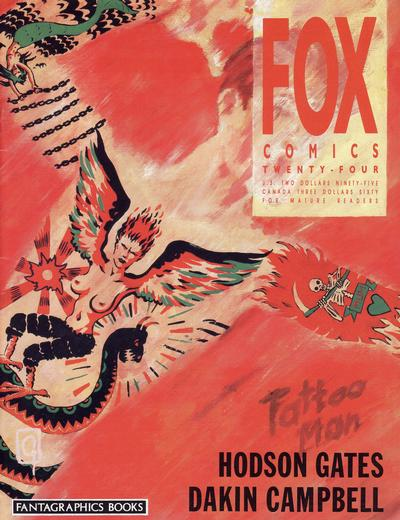 Cover for Fox Comics (Fox Comics / Fantagraphics Books Inc., 1989 series) #24