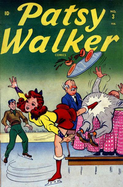 Cover for Patsy Walker (Marvel, 1945 series) #3