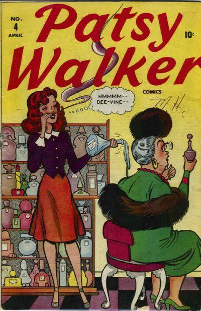 Cover for Patsy Walker (Marvel, 1945 series) #4