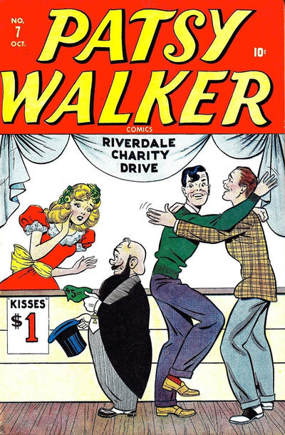 Cover for Patsy Walker (Marvel, 1945 series) #7