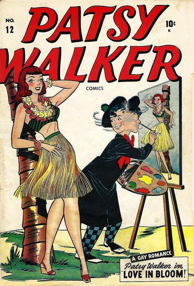 Cover for Patsy Walker (Marvel, 1945 series) #12