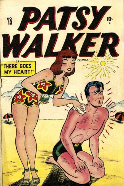 Cover for Patsy Walker (Marvel, 1945 series) #13