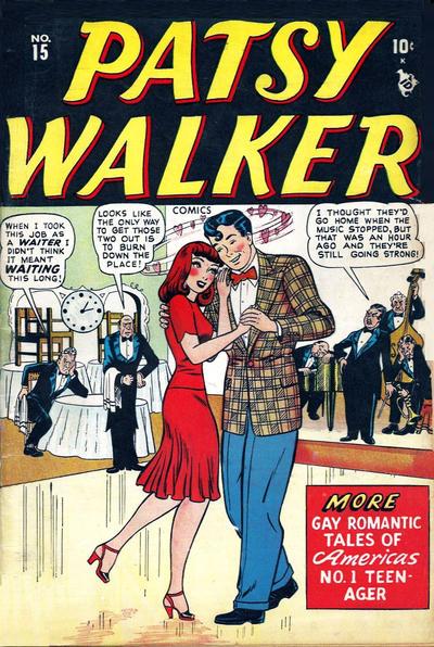 Cover for Patsy Walker (Marvel, 1945 series) #15