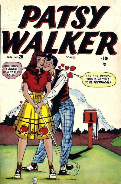 Cover for Patsy Walker (Marvel, 1945 series) #20