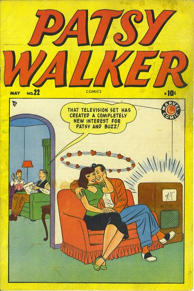 Cover for Patsy Walker (Marvel, 1945 series) #22