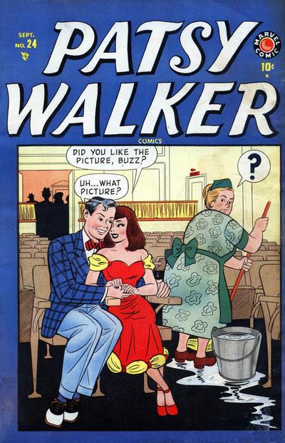 Cover for Patsy Walker (Marvel, 1945 series) #24