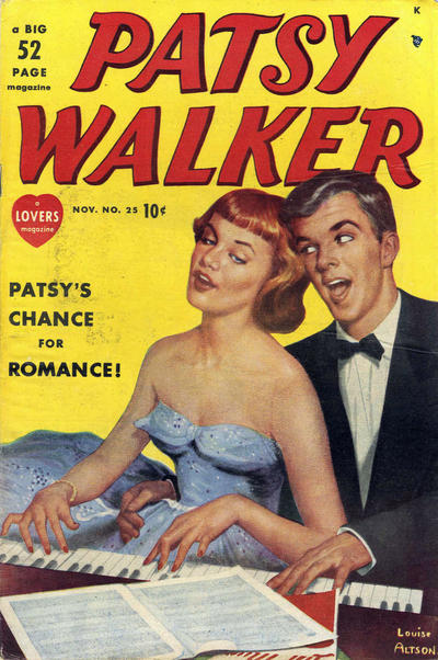 Cover for Patsy Walker (Marvel, 1945 series) #25