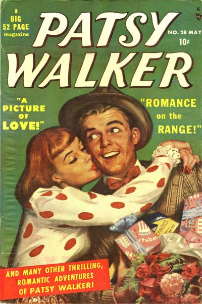 Cover for Patsy Walker (Marvel, 1945 series) #28