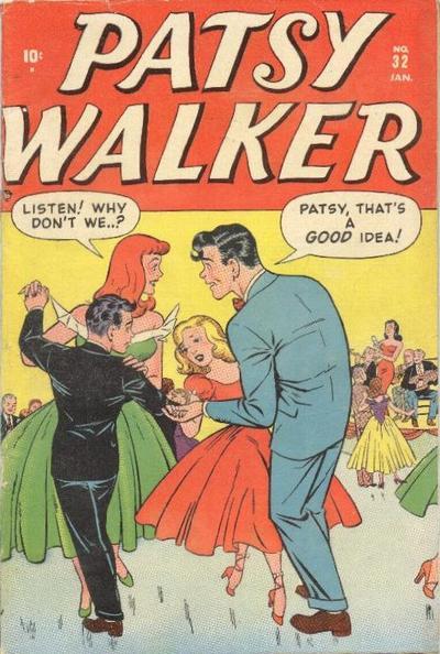 Cover for Patsy Walker (Marvel, 1945 series) #32