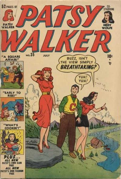 Cover for Patsy Walker (Marvel, 1945 series) #35