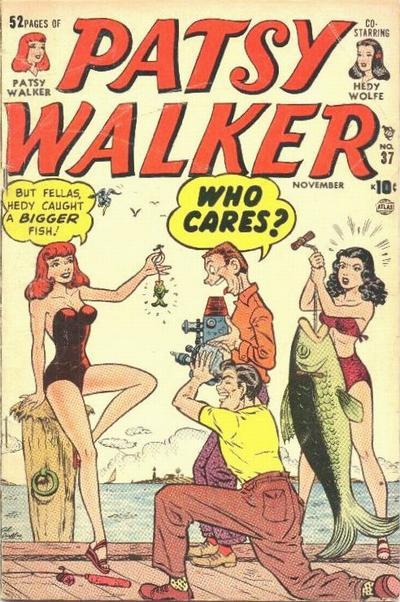 Cover for Patsy Walker (Marvel, 1945 series) #37