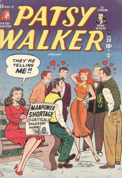 Cover for Patsy Walker (Marvel, 1945 series) #38