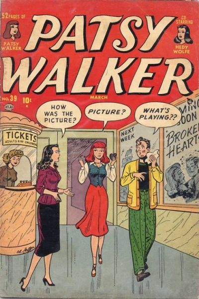 Cover for Patsy Walker (Marvel, 1945 series) #39