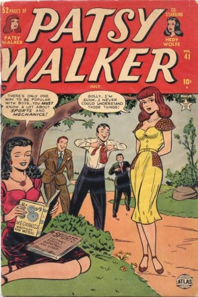 Cover for Patsy Walker (Marvel, 1945 series) #41