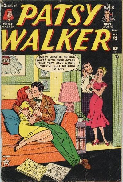 Cover for Patsy Walker (Marvel, 1945 series) #42