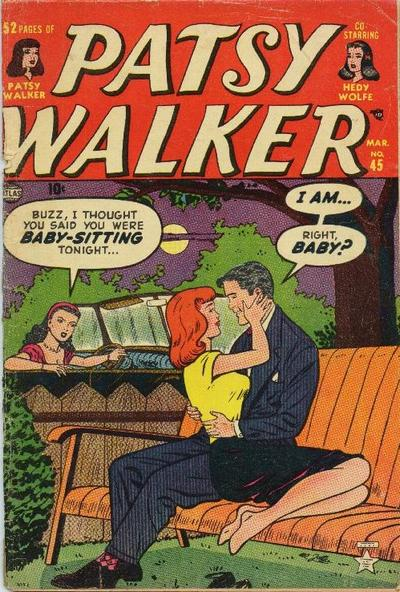 Cover for Patsy Walker (Marvel, 1945 series) #45