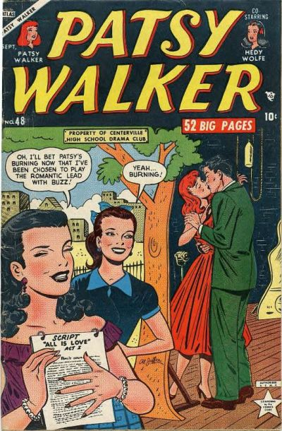 Cover for Patsy Walker (Marvel, 1945 series) #48