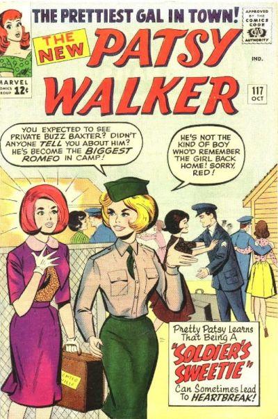 Cover for Patsy Walker (Marvel, 1945 series) #117