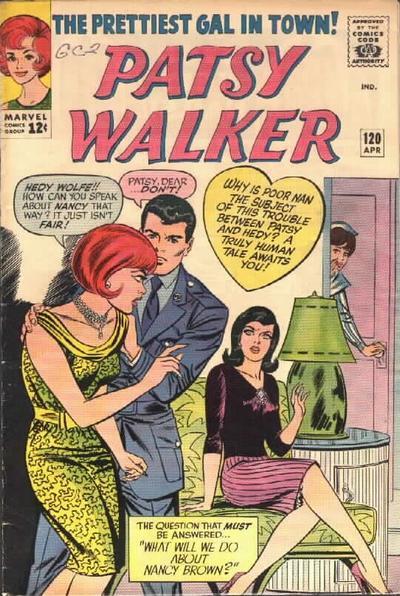 Cover for Patsy Walker (Marvel, 1945 series) #120