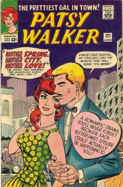 Cover for Patsy Walker (Marvel, 1945 series) #121