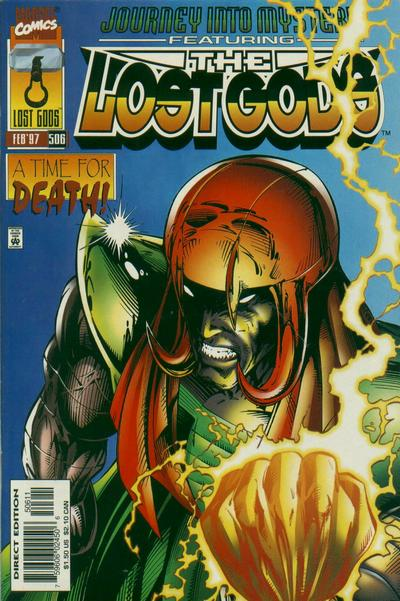 Cover for Journey into Mystery (Marvel, 1996 series) #506