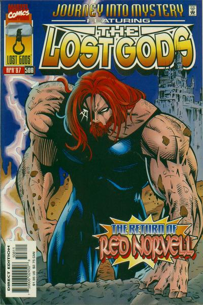 Cover for Journey into Mystery (Marvel, 1996 series) #508