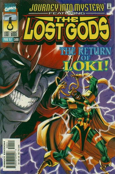 Cover for Journey into Mystery (Marvel, 1996 series) #509