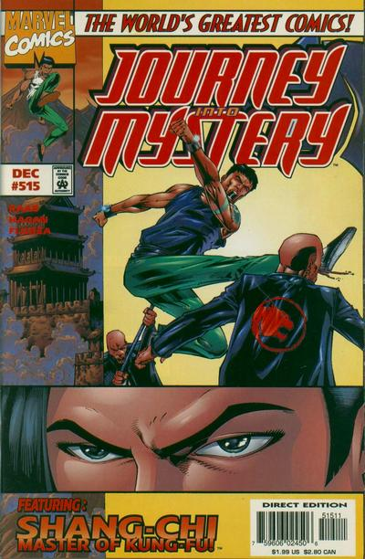 Cover for Journey into Mystery (Marvel, 1996 series) #515