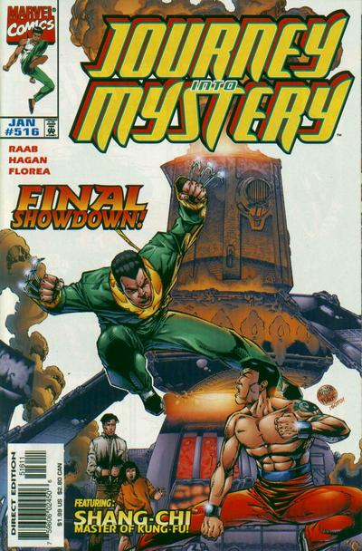 Cover for Journey into Mystery (Marvel, 1996 series) #516