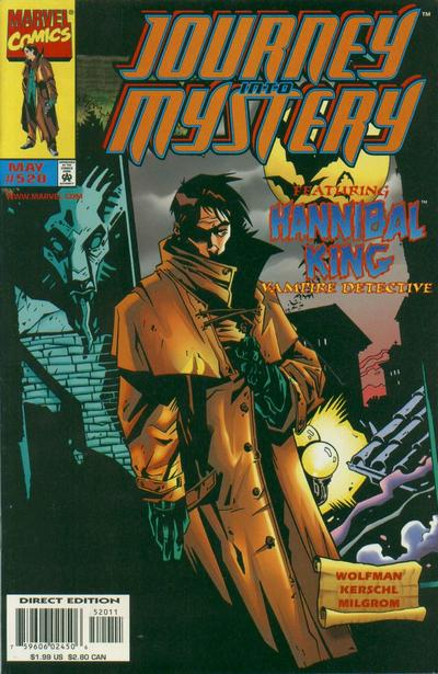 Cover for Journey into Mystery (Marvel, 1996 series) #520