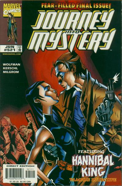 Cover for Journey into Mystery (Marvel, 1996 series) #521