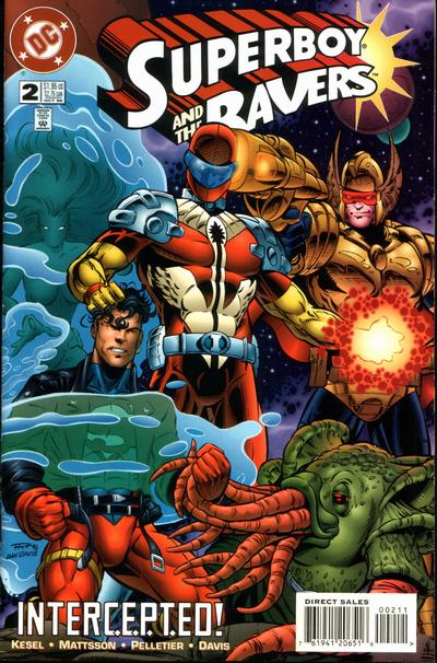 Cover for Superboy and the Ravers (DC, 1996 series) #2