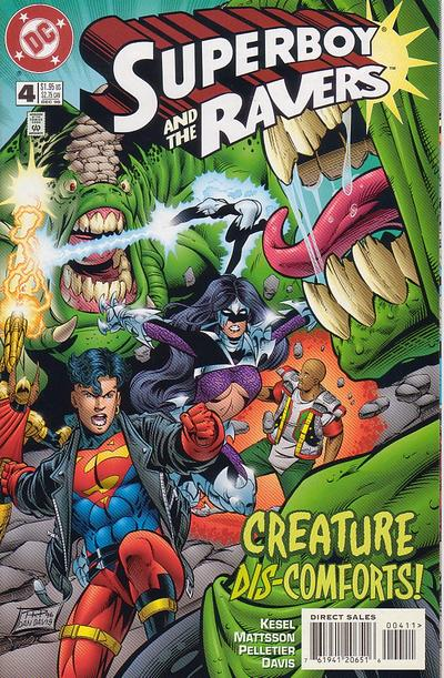 Cover for Superboy and the Ravers (DC, 1996 series) #4