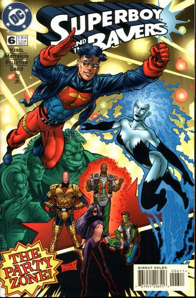 Cover for Superboy and the Ravers (DC, 1996 series) #6