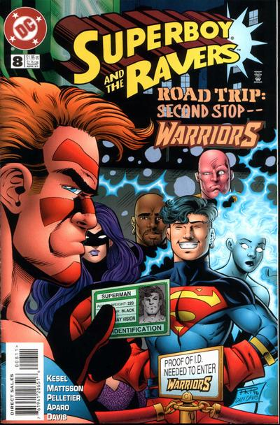 Cover for Superboy and the Ravers (DC, 1996 series) #8