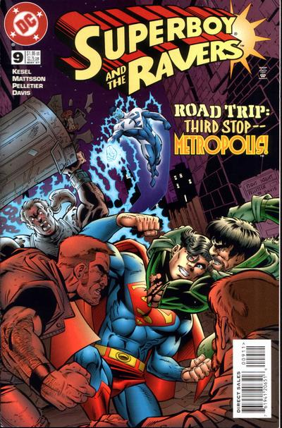 Cover for Superboy and the Ravers (DC, 1996 series) #9