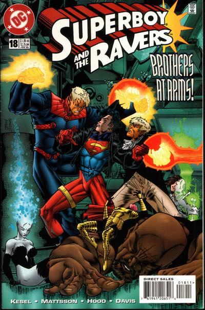Cover for Superboy and the Ravers (DC, 1996 series) #18