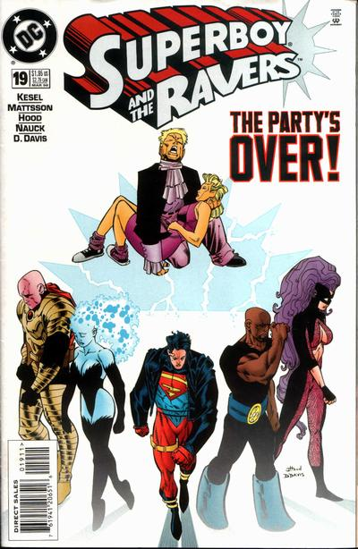 Cover for Superboy and the Ravers (DC, 1996 series) #19