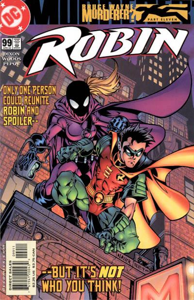Cover for Robin (DC, 1993 series) #99