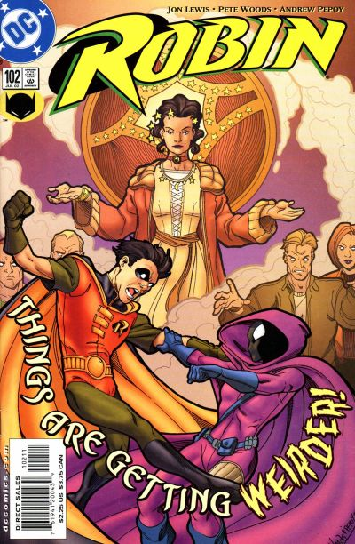 Cover for Robin (DC, 1993 series) #102