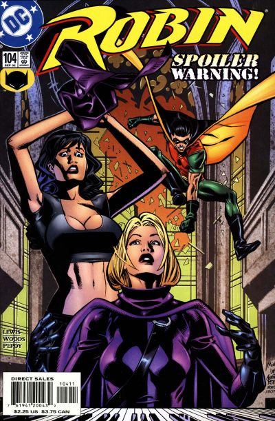 Cover for Robin (DC, 1993 series) #104