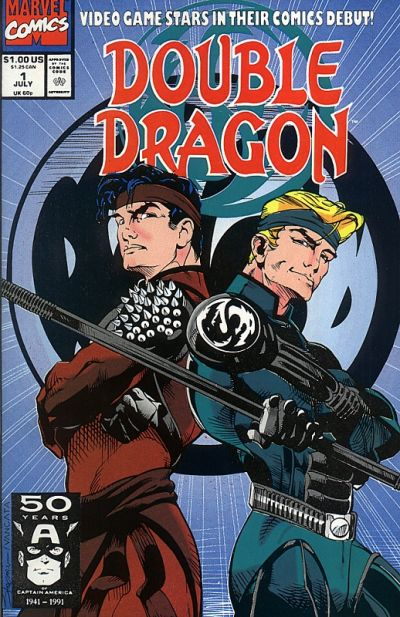 Cover for Double Dragon (Marvel, 1991 series) #1