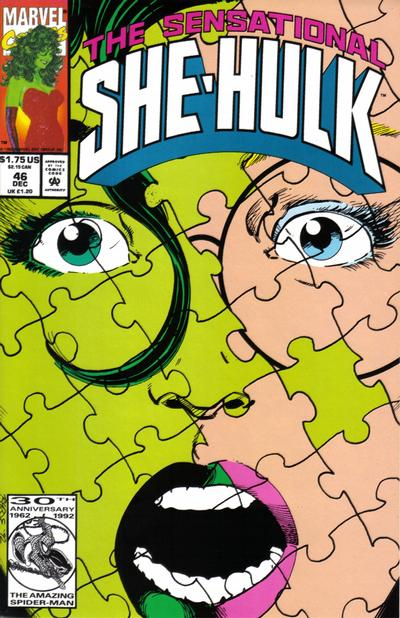 Cover for The Sensational She-Hulk (Marvel, 1989 series) #46