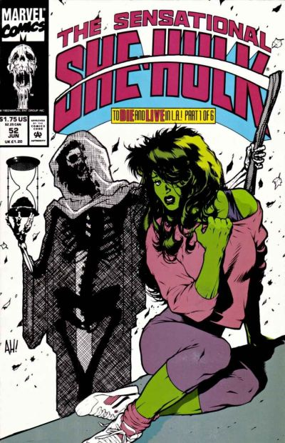 Cover for The Sensational She-Hulk (Marvel, 1989 series) #52