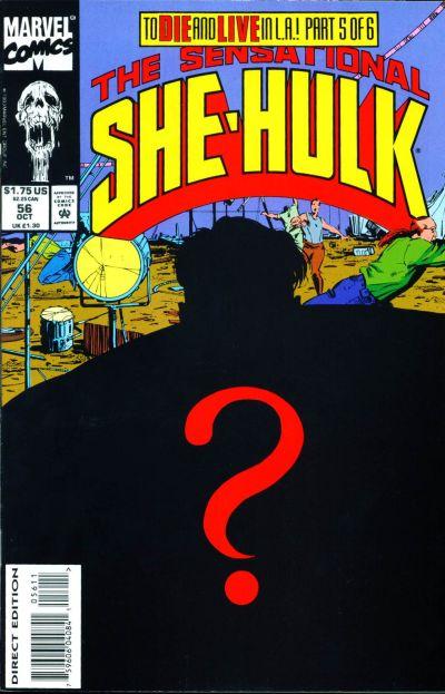 Cover for The Sensational She-Hulk (Marvel, 1989 series) #56