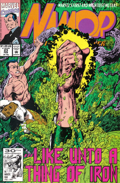 Cover for Namor, the Sub-Mariner (Marvel, 1990 series) #23
